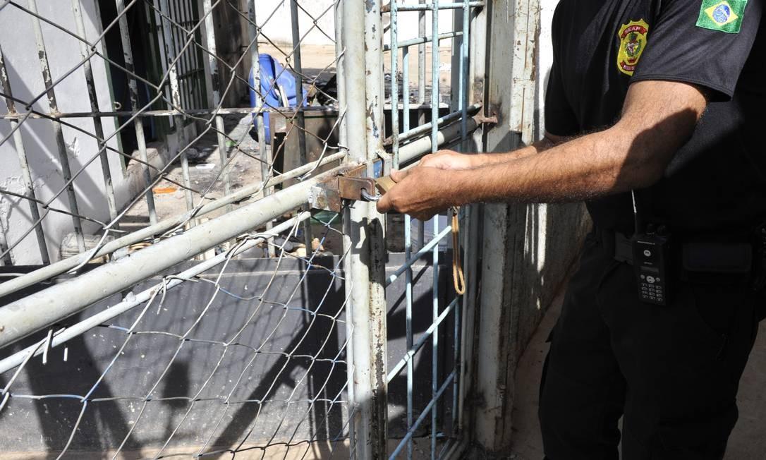 Segundo o Ministério da Justiça, em 31 de dezembro de 2016, o estado de Goiás recebeu R$ 32 milhões do Fundo Penitenciário Nacional (Funpen) para construir ou ampliar seu sistema prisional Foto: Aline Caetano / TJGO
