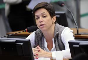 Cristiane Brasil participa de sessão da Comissão de Constituição e Justiça da Câmara Foto: Lúcio Bernardo Junior / Câmara dos Deputados 04-05-2017