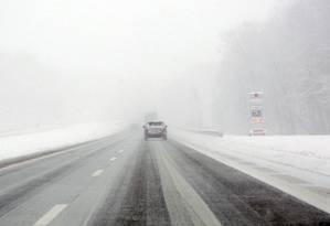 Rodovia Interstate 90 próxima da Vrooman Road, na saída de Ohio, nos EUA Foto: Lynn Ischay / AP