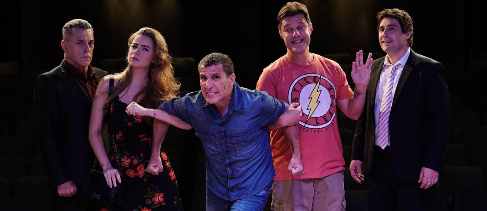 A comédia é de autoria dos franceses Gerald Bitton e Michel Munz Foto: Divulgação / Fausi Musa