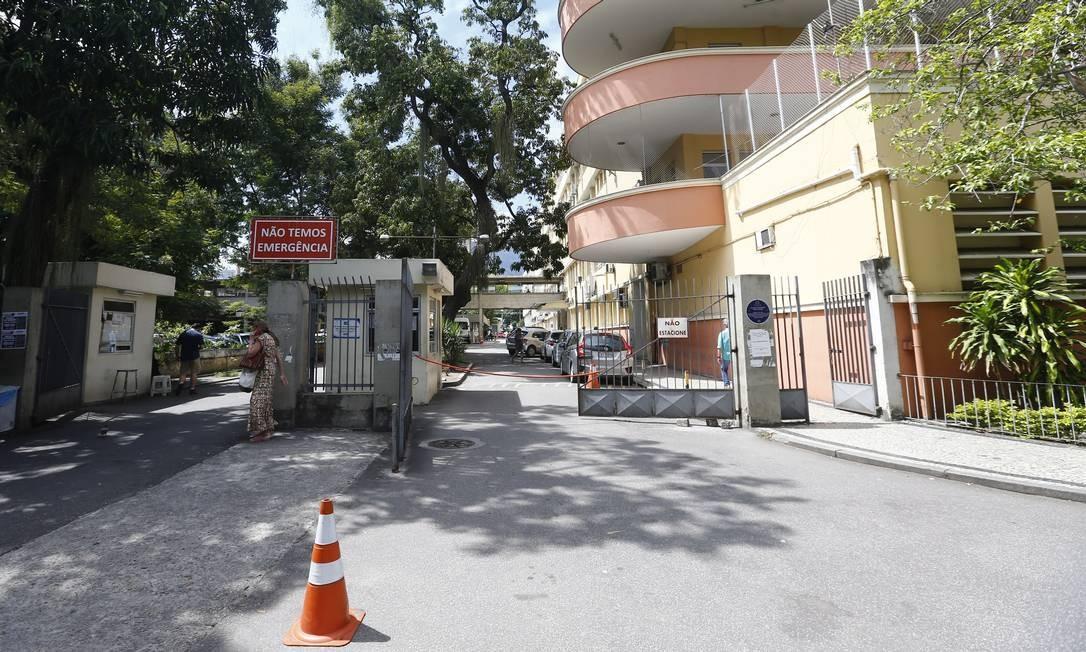 A crise na Uerj fez o hospital Pedro Ernesto cortar internações em dezembro Foto: Pablo Jacob / Agência O Globo