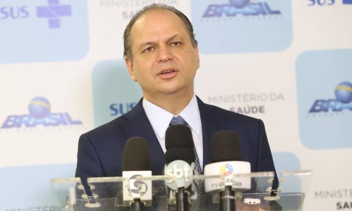 Ministro da Saúde diz que irá deixar o cargo por eleições