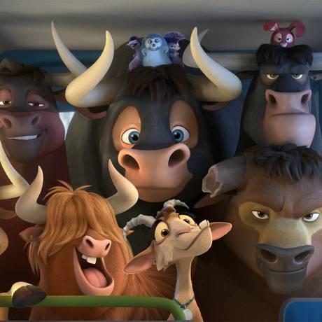 O touro Ferdinando Foto: Divulgação