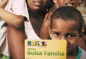 Quando foi criado, em 2004, o Bolsa Família atendia 7 milhões de famílias. Hoje, são 13,5 milhões Foto: Reprodução