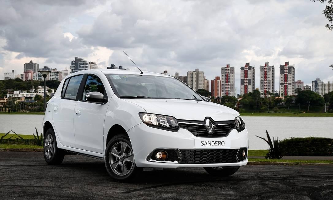 6 - Renault Sandero - 67.344 unidades Divulgação