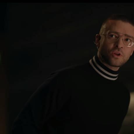 Justin Timberlake no clipe de 'Filthy' Foto: Reprodução