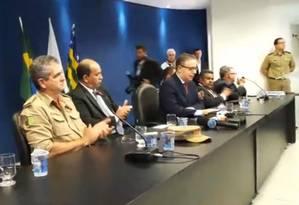 Secretário Balestreri pediu mais recursos do governo federal em meio à crise Foto: Reprodução/Facebook