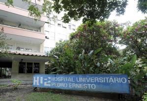 Uerj suspende concurso para residente no Hospital Universitário Pedro Ernesto Foto: Domingos Peixoto / Agência O Globo