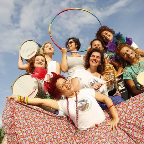 O bloco Mulheres Rodadas Foto: Ana Branco