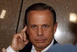 Prefeito João Doria se encontra com presidente Temer em São paulo Foto: Edilson Dantas / Agência O Globo