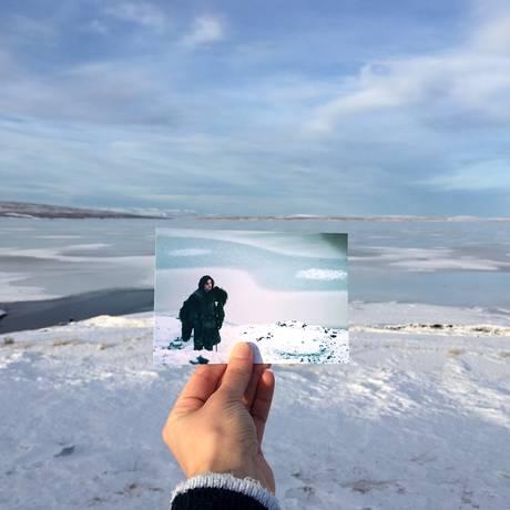 """""""Game of thrones"""" (2011) / Vatnajökull, Islândia / A grandiosa série é filmada em nove países, incluindo a gélida Islândia, onde são gravadas as cenas ao norte da Muralha. Foto: Andrea David/Divulgação"""