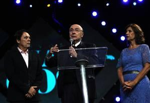 Em clima de campanha, Meirelles participa de culto evangélico e é chamado de 'luz no fim do túnel' Foto: Jorge William / Agência O Globo