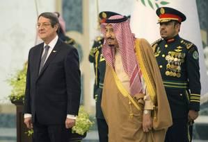 O rei saudita Salman Foto: Saudi Royal Palace/AFP/BANDAR AL-JALOUD