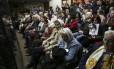Mães da Praça de Maio durante anúncio da sentença do general Reynaldo Bignone, último presidente da ditadura militar argentina: oposição ao plano de Macri