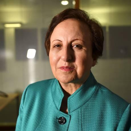 A ativista e advogada iraniana Shirin Ebadi Foto: DYLAN MARTINEZ / REUTERS/4-1-2018