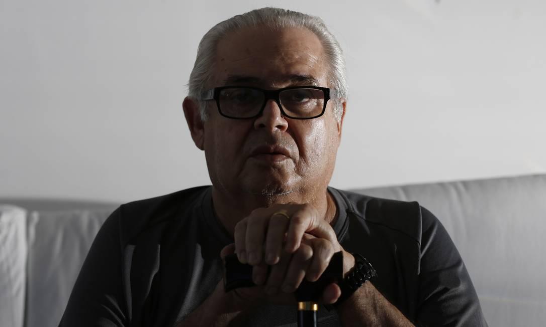 O ex-deputado federal Pedro Corrêa, durante entrevista em sua casa Foto: Michel Filho/Agência O Globo/04-01-2018