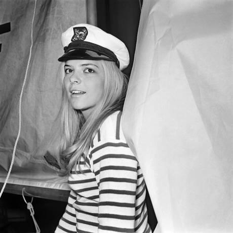 A cantora France Gall, em foto de 1968 Foto: STR / AFP