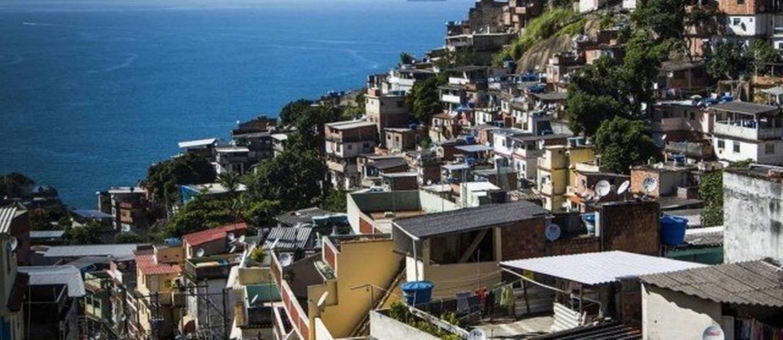 Morro do Vidigal, na Zona Sul do Rio Foto: Foto / Fabio Seixo
