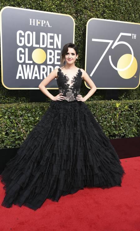 A atriz Laura Marano Foto: VALERIE MACON / AFP