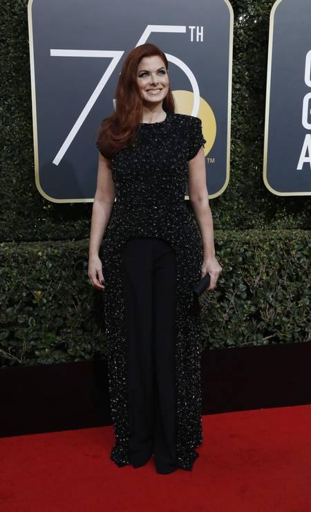 A atriz Debra Messing Foto: MARIO ANZUONI / REUTERS