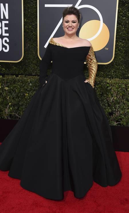 A cantora Kelly Clarkson Foto: Jordan Strauss / Jordan Strauss/Invision/AP