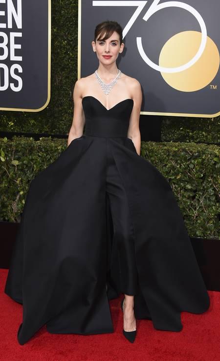 A atriz Alison Brie Foto: Jordan Strauss / Jordan Strauss/Invision/AP