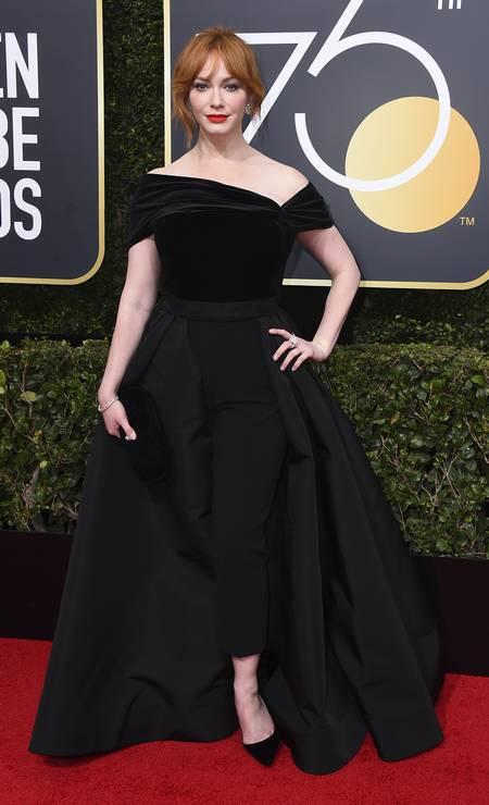 A atriz Christina Hendricks Foto: Jordan Strauss / Jordan Strauss/Invision/AP