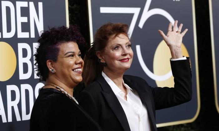 Rosa Clemente e Susan Sarandon Foto: MARIO ANZUONI / REUTERS