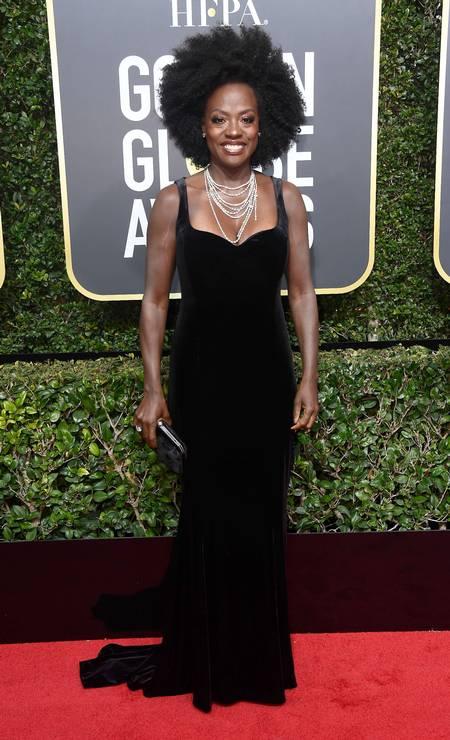 A atriz Viola Davis Foto: Frazer Harrison / AFP