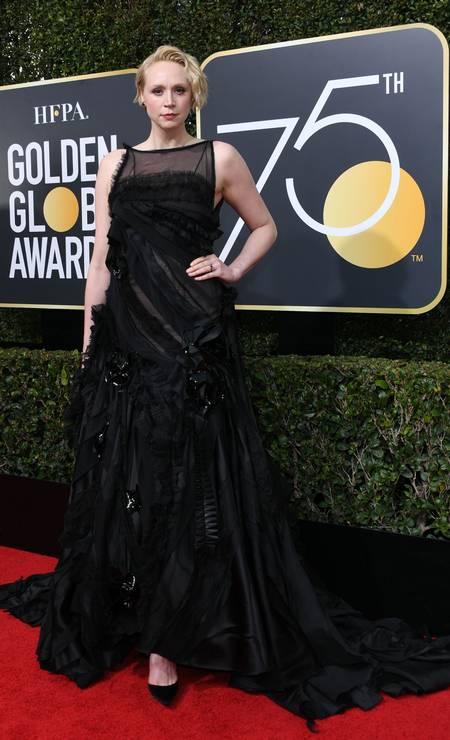 A atriz Gwendoline Christie Foto: VALERIE MACON / AFP