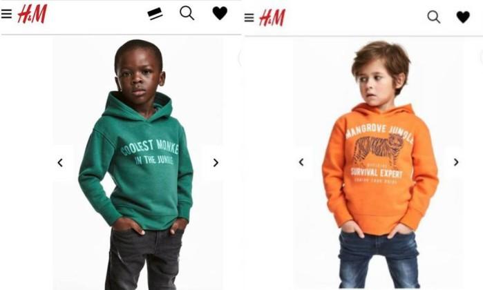 Aps anncio racista rede hm contrata diretor de diversidade internautas acusam empresa sueca de racismo em anncio de roupas reproduo stopboris Image collections