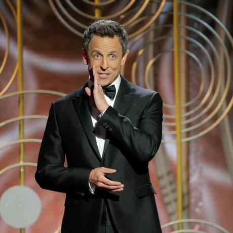 Seth Meyers, apresentador do Globo de Ouro 2018 Foto: HANDOUT / REUTERS