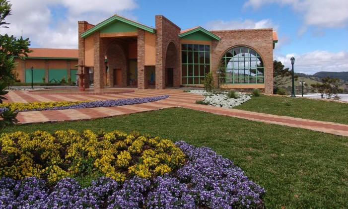 Vinhedos de altitude, como os da vinícola Villa Francioni, são atrações em São Joaquim, Santa Catarina Foto: Divulgação