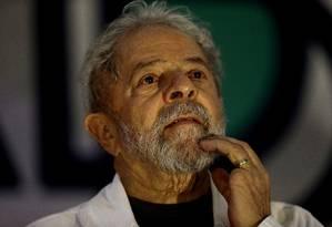 Lula participa do congresso dos catadores Foto: Jorge William / Agência O Globo