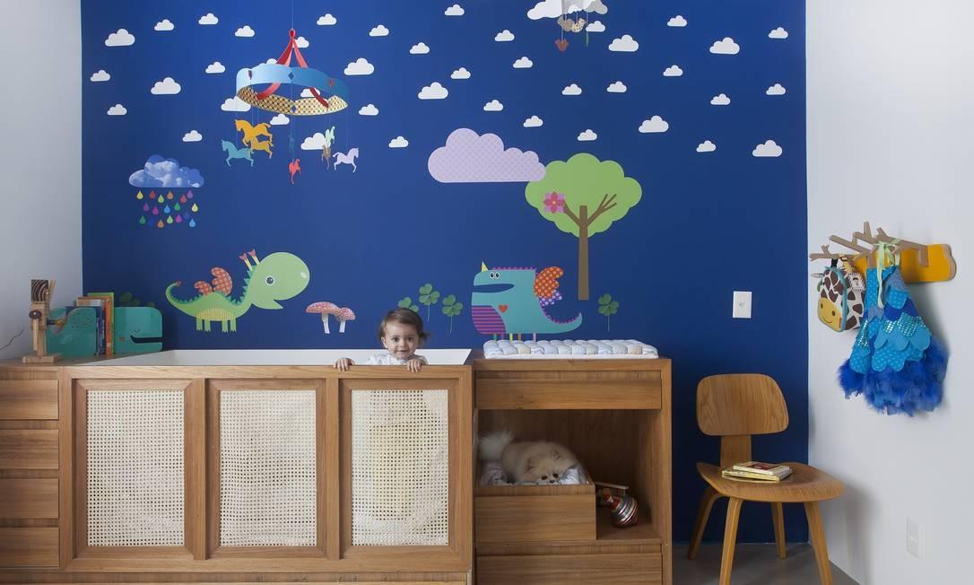 Quarto infantil do escritório carioca PKB Arquitetura Foto: Andrea Marques – NaToca