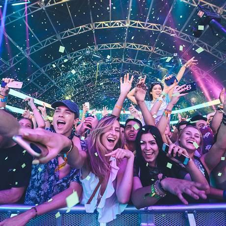 Público no Coachella, em 2017 Foto: Reprodução do site do festival