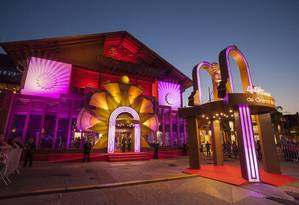 Palácio dos Festivais, situado na Rua Borges de Medeiros, em Gramado: palco do festival Foto: Cleiton Thiele / Pressphoto