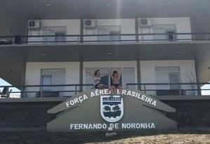 Cristiane Brasil passou o réveillon em hotel da FAB em Fernando de Noronha Foto: Reprodução internet