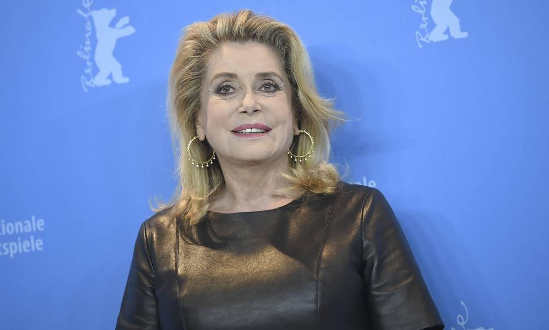 A atriz francesa Catherine Deneuve Foto: Britta Pedersen / AP