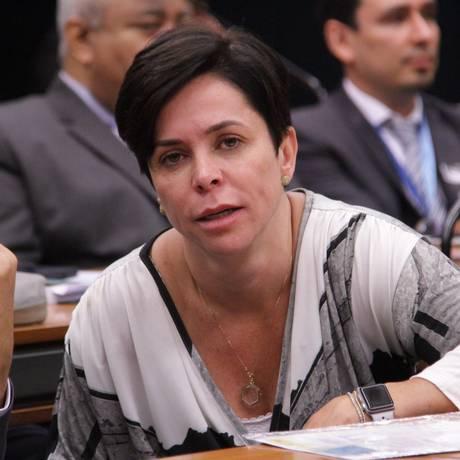Deputada Cristiane Brasil Foto: João Ricardo / Agência O Globo
