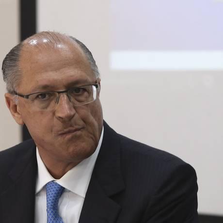 O pré-candidato Geraldo Alckmin Foto: Ailton Freitas / Agência O Globo