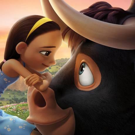 Cena da animação 'O touro Ferdinando' Foto: Divulgação