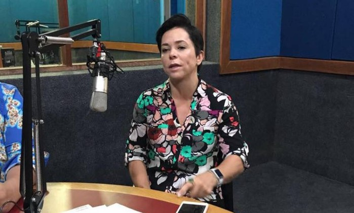 A deputada Cristiane Brasil - Reprodução internet