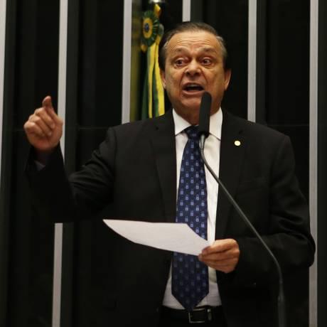 O deputado Jovair Arantes (PTB-GO) Foto: Ailton de Freitas / Agência O Globo