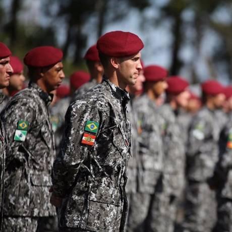 Operação da Força Nacional foi um pedido do Ministério do Meio Ambiente para atuar em crimes ambientais na Amazônia Foto: Divulgação