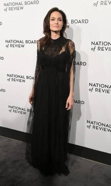 Angelina Jolie, de Valentino ANGELA WEISS / AFP