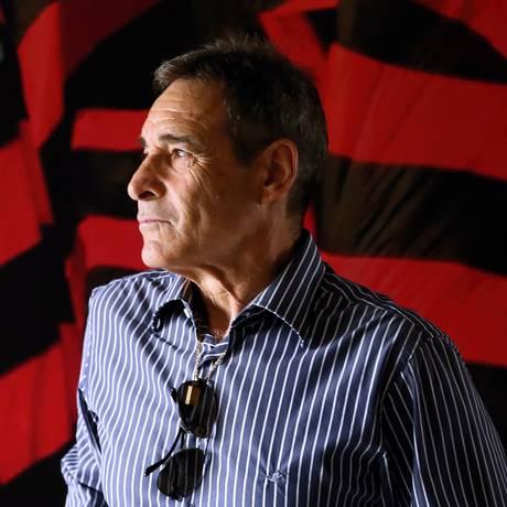 Carpegiani foi apresentado nesta terça-feira Foto: Gilvan de Souza / Flamengo