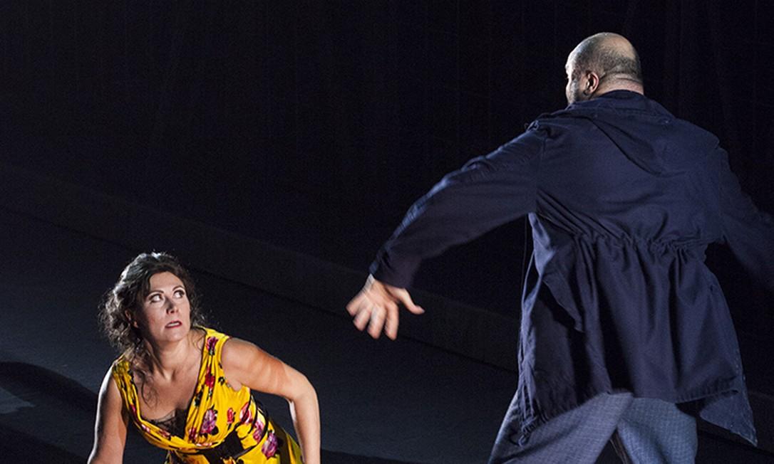 Ópera 'Carmen' apresentada no teatro Maggio Musicale, em Florença Foto: Divulgação