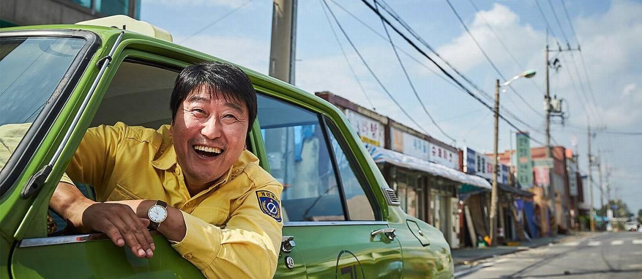 Cena do filme 'Um motorista de táxi' Foto: Divugação