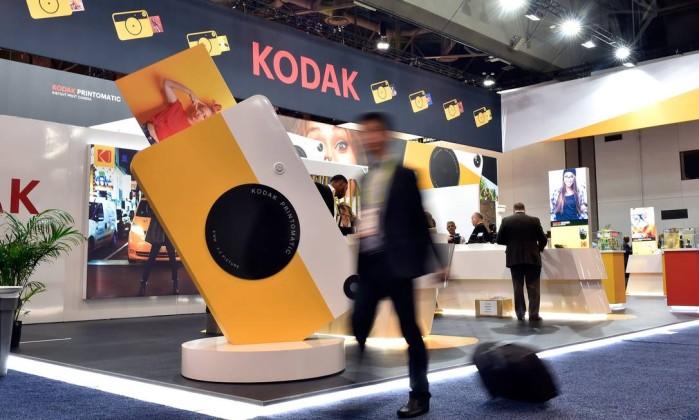 Kodak lança criptomoeda e acções sobem mais de 100%